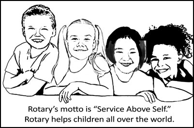 Rotary helps kids all over the world